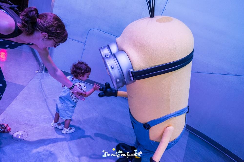 universal studios orlando amb un bebè
