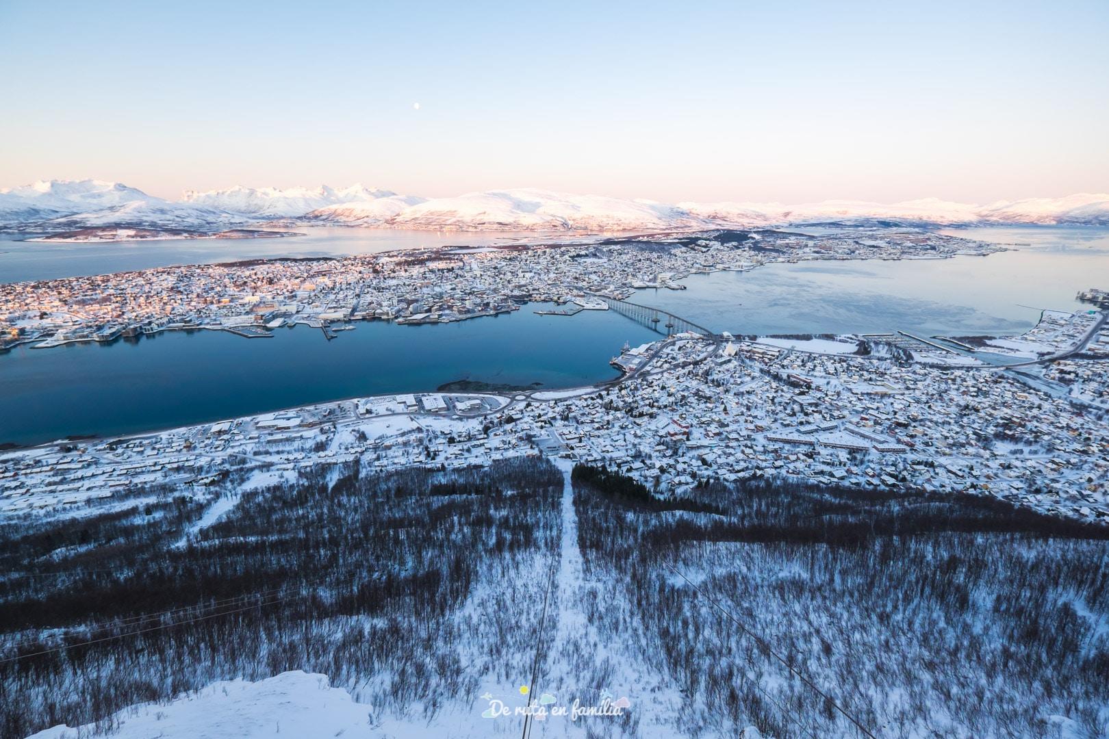 Viatjar a Tromso. Visitar Tromso