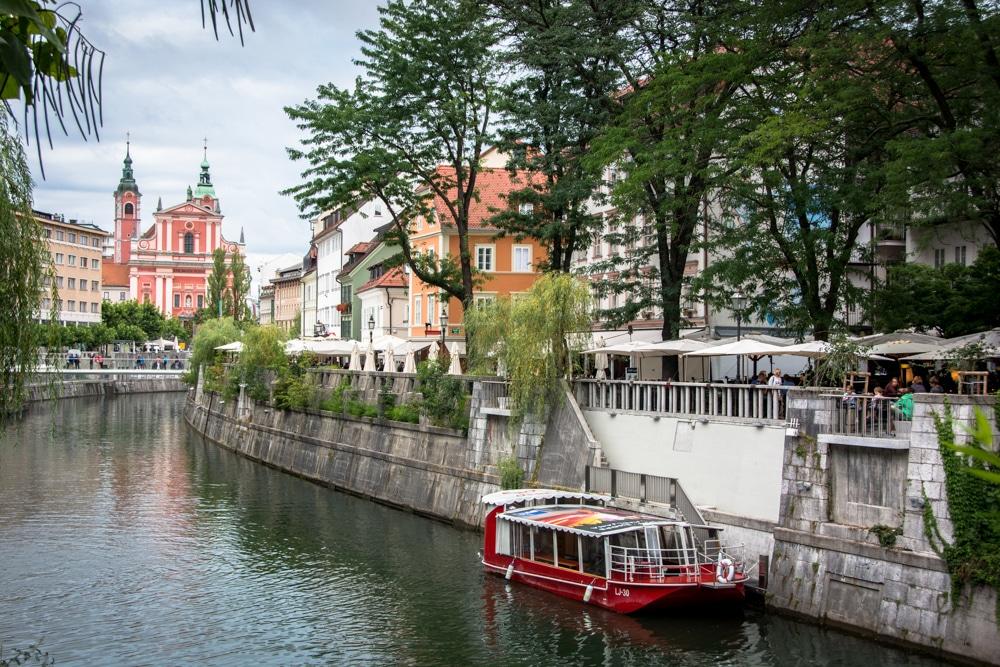 Ruta per Eslovènia (III): Un passeig pel centre de Ljubljana