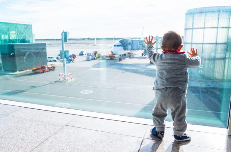 volar amb un bebe